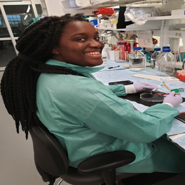 Chidera Ubah, class of 2021: balancing research, service, & authorship