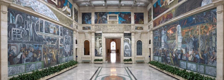 Rivera Court in the Detroit Institute of Arts
