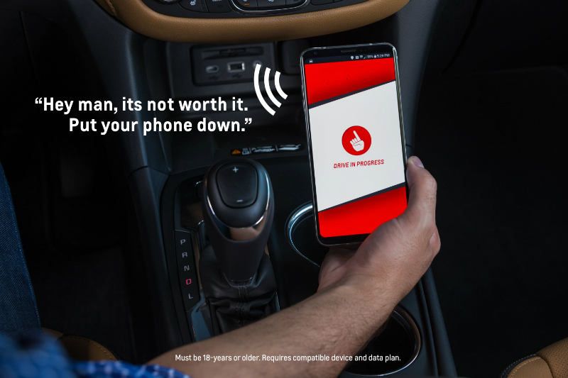 Chevrolet launches a new smartphone app, Call Me Out, to help remind drivers to keep their hands off