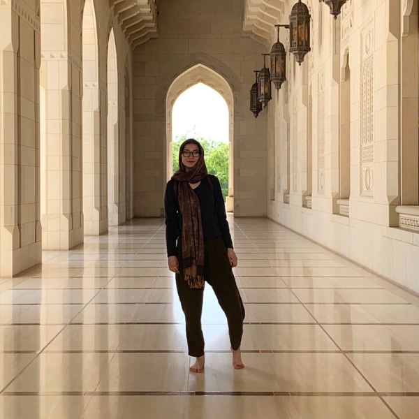 Georgene Abbey: A life-changing internship at the U.S. Embassy in Oman