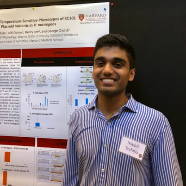Biology student gets experience of a lifetime in Harvard research lab